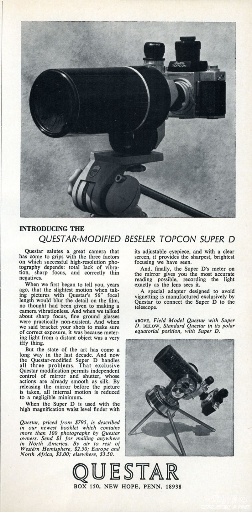 Beseler Topcon贝塞尔拓普康 Questar-modified Beseler Topcon Super D 1969_相机广告.jpg