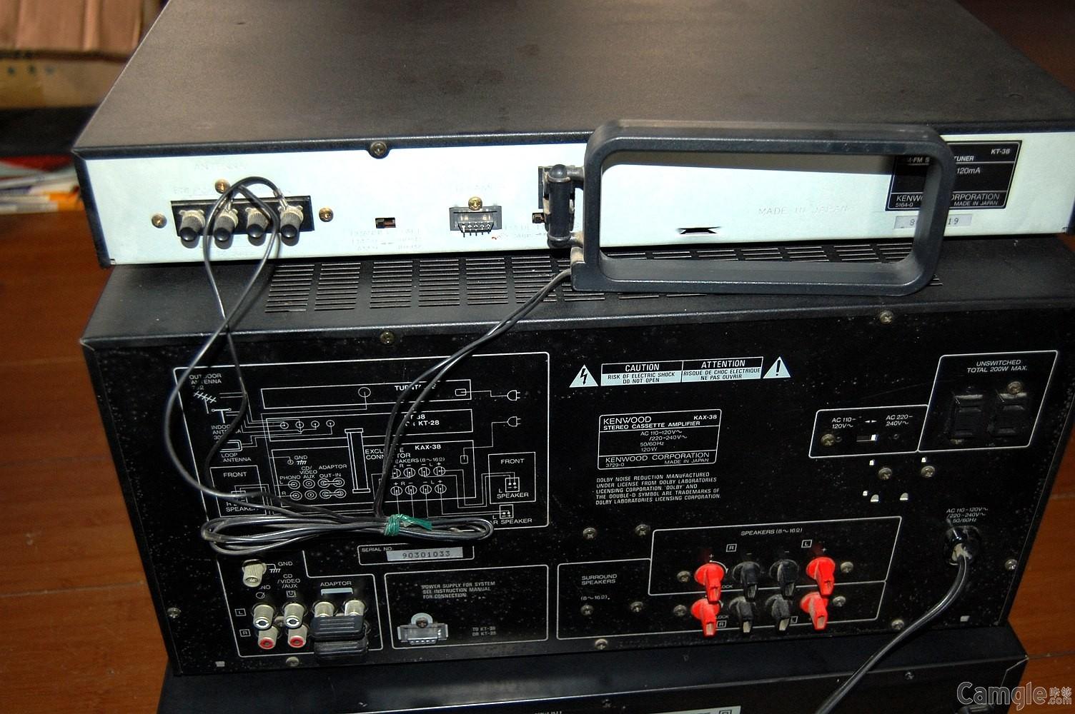 建伍kax-38组合音响主机178